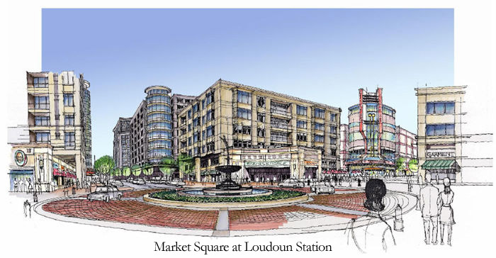 Market Square at Loudoun Station