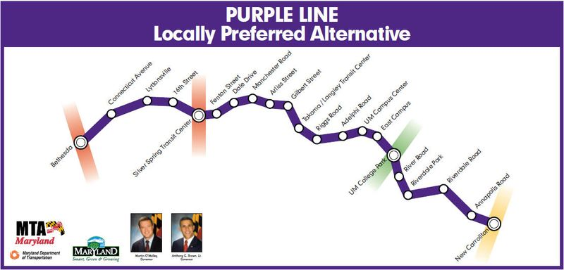 Maryland purple line